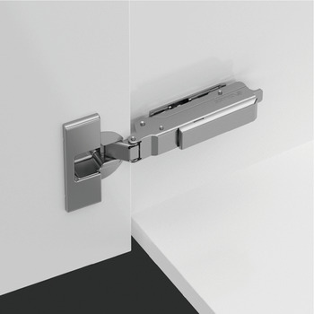 Concealed Cup Hinge, 95° Standard, for Up to 28 mm Thick Doors, Half Overlay/Twin Mounting, Click on Arm, Tiomos