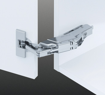 Concealed Cup Hinge and Plate, 160° Soft Close, Grass Tiomos