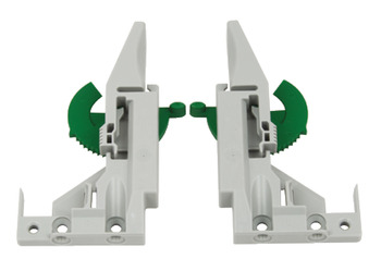 Concealed Drawer Runners, Full Extension, Packed Set with 1D Clips, Dynamoov 30 kg