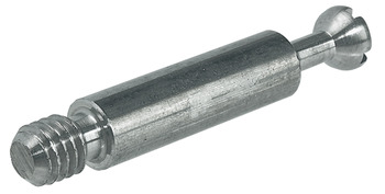 Connecting Bolt, for Ø 8 or 10 Ø mm Holes, with M6 Thread, Minifix S100