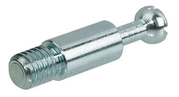 Connecting Bolt, for Maxifix Housings, M6 Thread, Zinc Plated Steel