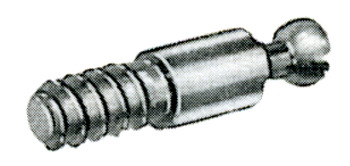Connecting bolt, Steel, with Special Thread and Bolt Head Ø 6.5 mm, Minifix 10