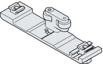 Connecting Bracket, for Wood, for Pivot Sliding Cabinet Doors, Hawa-Concepta