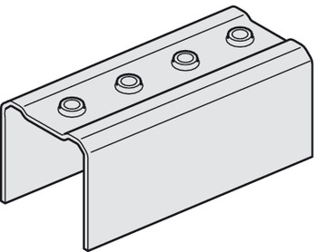 Connection Piece, for Folding Interior Doors, Slido Fold 100-T