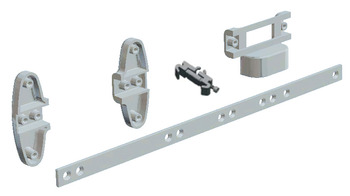 Connector Bracket, for Vibo Dream Range, Stilos Aluminium Profile Shelving System
