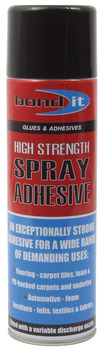 Contact Spray Adhesive, High Strength, 500 ml Can