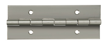 Continuous Hinge, 2000 mm Length, Stainless Steel