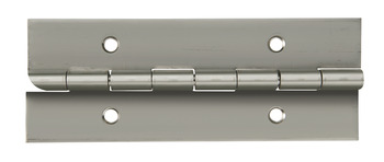 Continuous Hinge, Anti-Ligature, 2000 mm Length, Stainless Steel