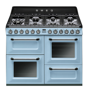 Cooker, Dual Fuel Four Cavity, Gas 1100 mm, Smeg Victoria