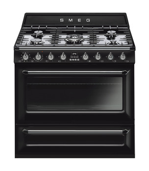 Cooker, Dual Fuel, Traditional, Single Cavity, Gas Hob, 900 mm, Smeg Victoria