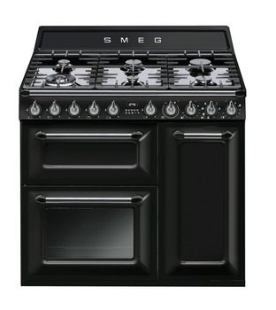 Cooker, Dual Fuel, Traditional, Three Cavity, Gas Hob, 900mm, Smeg Victoria