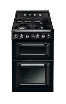 Cooker, Dual Fuel, Traditional, Two Cavity, Gas Hob, 600mm, Smeg Victoria