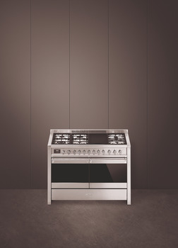 Cooker, Dual Fuel, with Double Oven, 1200 mm, Smeg Opera