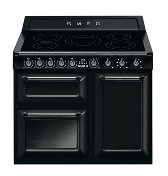Cooker, Induction, Traditional, Three Cavity, Induction Hob, 1000 mm, Smeg Victoria