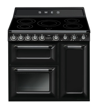 Cooker, Induction, Traditional, Three Cavity, Induction Hob, Smeg Victoria