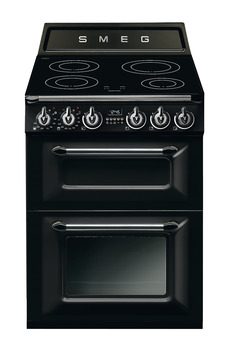 Cooker, Induction, Two Cavity, 600mm, Smeg Victoria