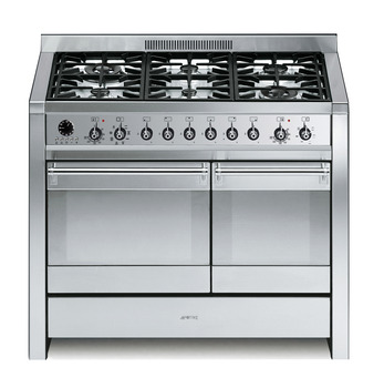 Cooker , with Multifunction Oven, Gas 1000 mm, Smeg Opera