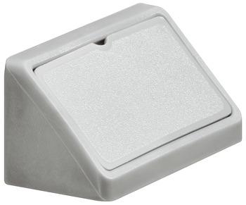 Corner Connector, with Cover Cap, Width 44 mm, Mini