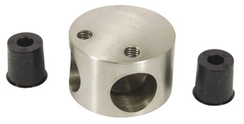Corner Piece, 303 Stainless Steel Cubicle Fittings, PBA