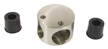 Corner Piece, 316 L Cubicle Fittings, PBA