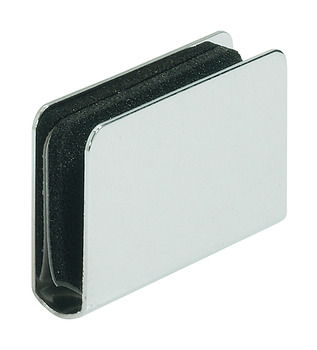Counterplate, for Magnetic Pressure Catches and for Glass Doors