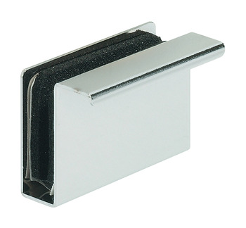 Counterplate, with Finger Pull, for Magnetic Pressure Catches and for Glass Doors