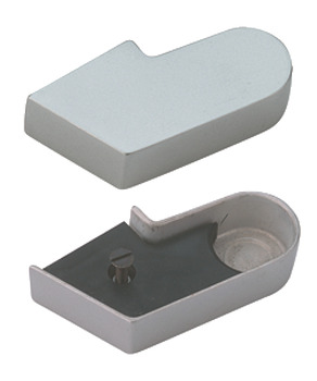 Cover Cap, for Single Action Top Centre, Aluminium, Geze