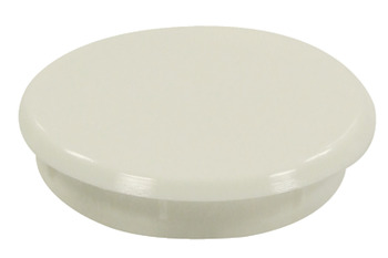 Cover Cap, Round, to Conceal Ø 35 mm Drilled Hole, Plastic