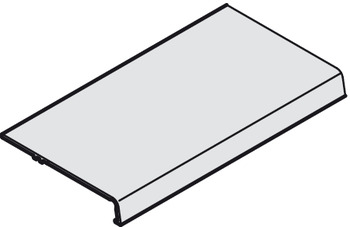 Cover Profile, for Sliding Cabinet Doors, Eku-Combino 45