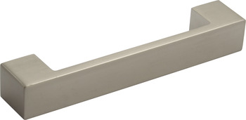 D Pull Handle, Aluminium, Fixing Centres 128-160 mm