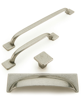D Pull Handle, Cast Iron, Fixing Centres 128-224 mm, George