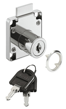 Dead Bolt Rim Lock, for Screw Fixing, Standard Profile, Econo