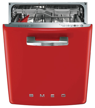 Dishwasher, Built In, 600 mm, Smeg 50's Retro Style
