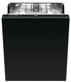 Dishwasher, Fully Integrated 600 mm, 12 Place Settings, Smeg