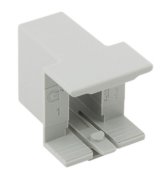 Divider Rail Clip, for use with Nova Pro Scala Drawers