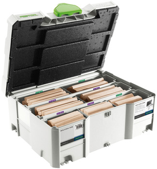 Domino Biscuit Assortment in Systainer, Festool