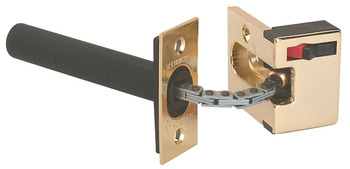 Door Chain, Securichain, Brass, Plastic and Steel