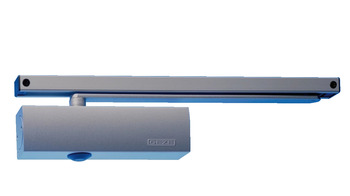 Door Closer, Electromechanical, Hold-Open, with Guide Rail Arm, TS 3000 E