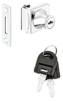 Door DeadBolt Lock, for Glass Door Thickness: 5–8 mm, Standard Profile, Glass, Econo