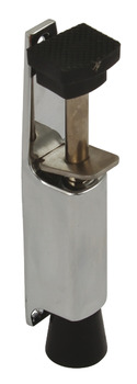 Door Holder, Foot Operated, Max. Throw 30 mm, Zinc Alloy, Steel and Rubber