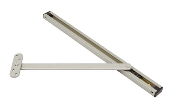 Door Holder, Overhead, for Outward Opening Doors, Steel and Plastic