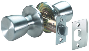 Door Knob Set, Passage, Steel