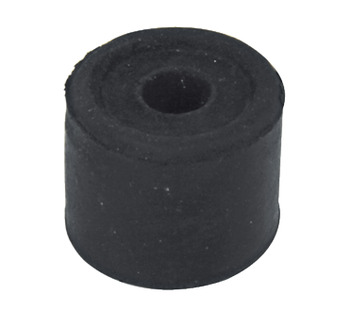 Door Stop, Floor Fixing, Ø 34 mm, Rubber