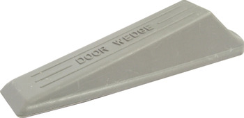 Door Wedge, 138 x 43 x 26 mm, Rubber