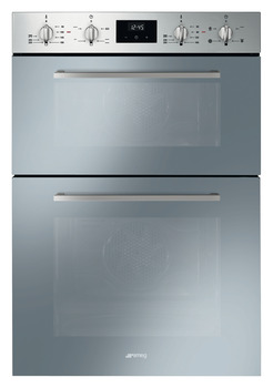 Double Oven, Multifunction, 600 mm, Smeg Cucina