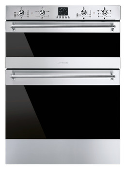 Double Oven, Multifunction, Under Counter, 600 mm, Smeg Classic