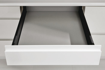 Drawer Back, 157 mm High, for MX System Pan and Solid Side Drawers