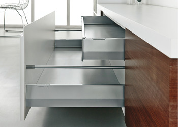 Drawer Back, 69 mm High, for MX System Standard Drawers