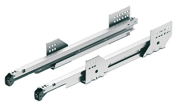 Drawer Runners, 50 kg, Full Extension, Length 400-500 mm, MX