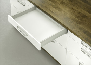 Drawer Runners, 50 kg, Full Extension, MX